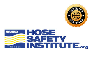 certified Hose Safety Institute metal hose fabricator