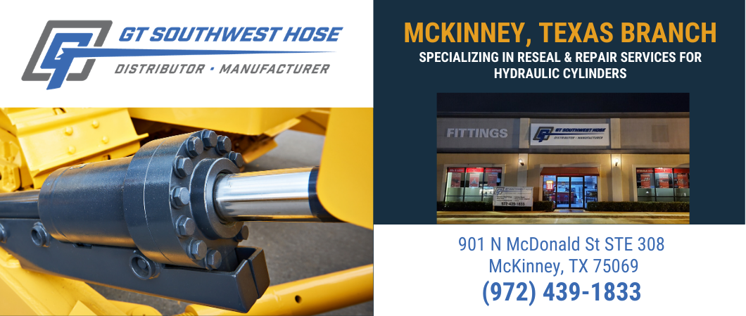hydraulic cylinder repair mckinney texas location